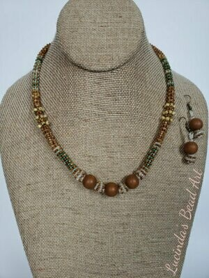Fauny Spring Necklace Set