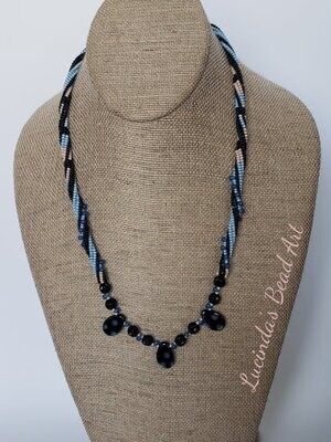 Spirals and Dots Necklace