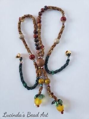Jasper Fall Necklace