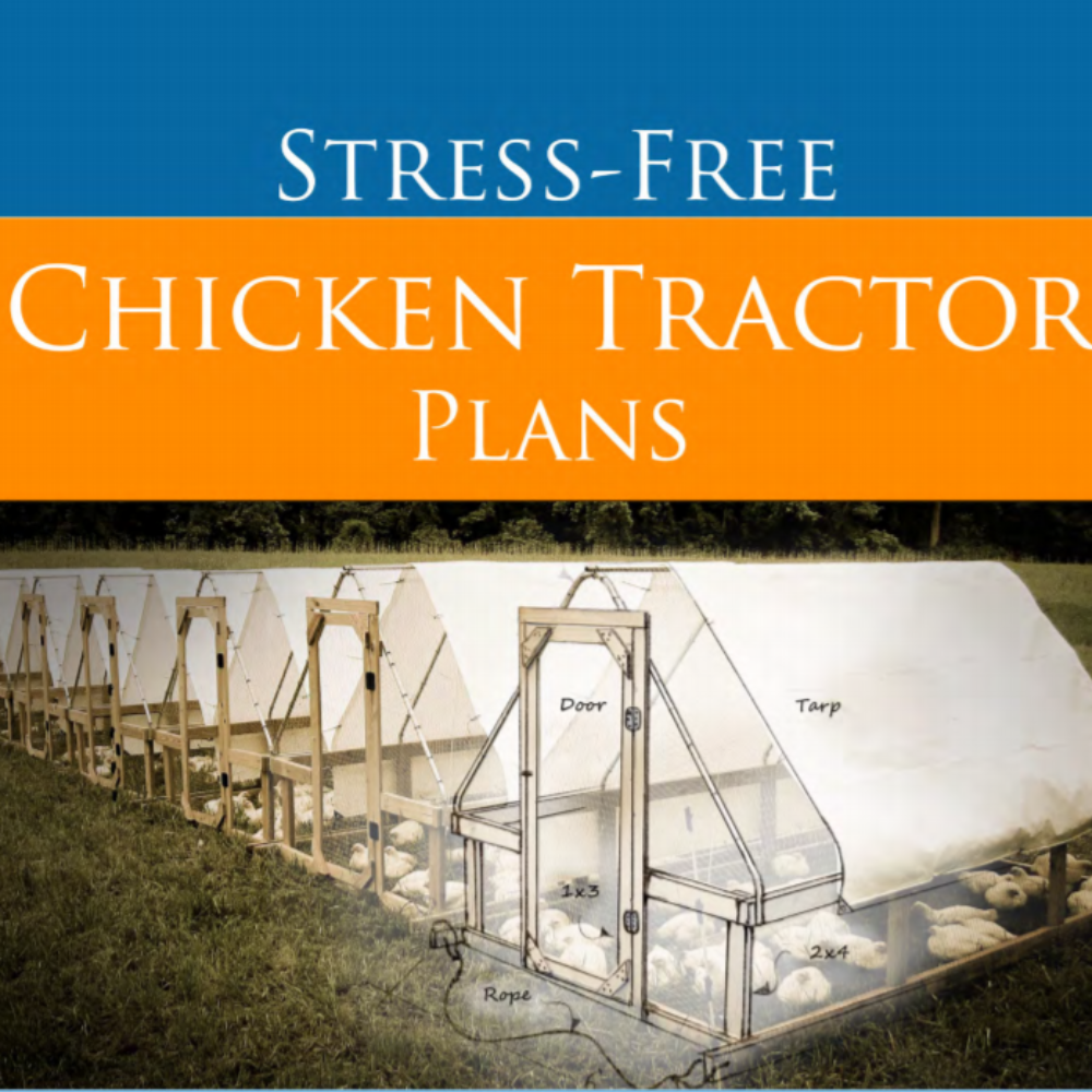 Stress-Free Chicken Tractor Plans eBook - Instant Download