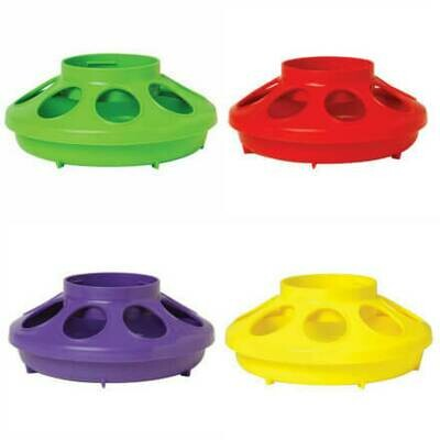 Plastic 8-Hole Round Feeder Base