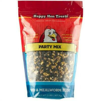Seed and Mealworm Party Mix - Happy Hen Treats