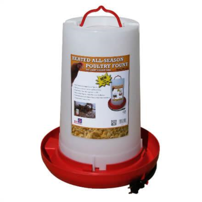 Farm Innovators Heated Poultry Replacement  Fount Top