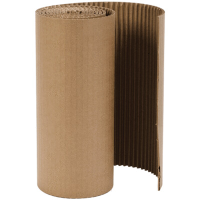 Cardboard Brooder Guard, Sold by the Foot