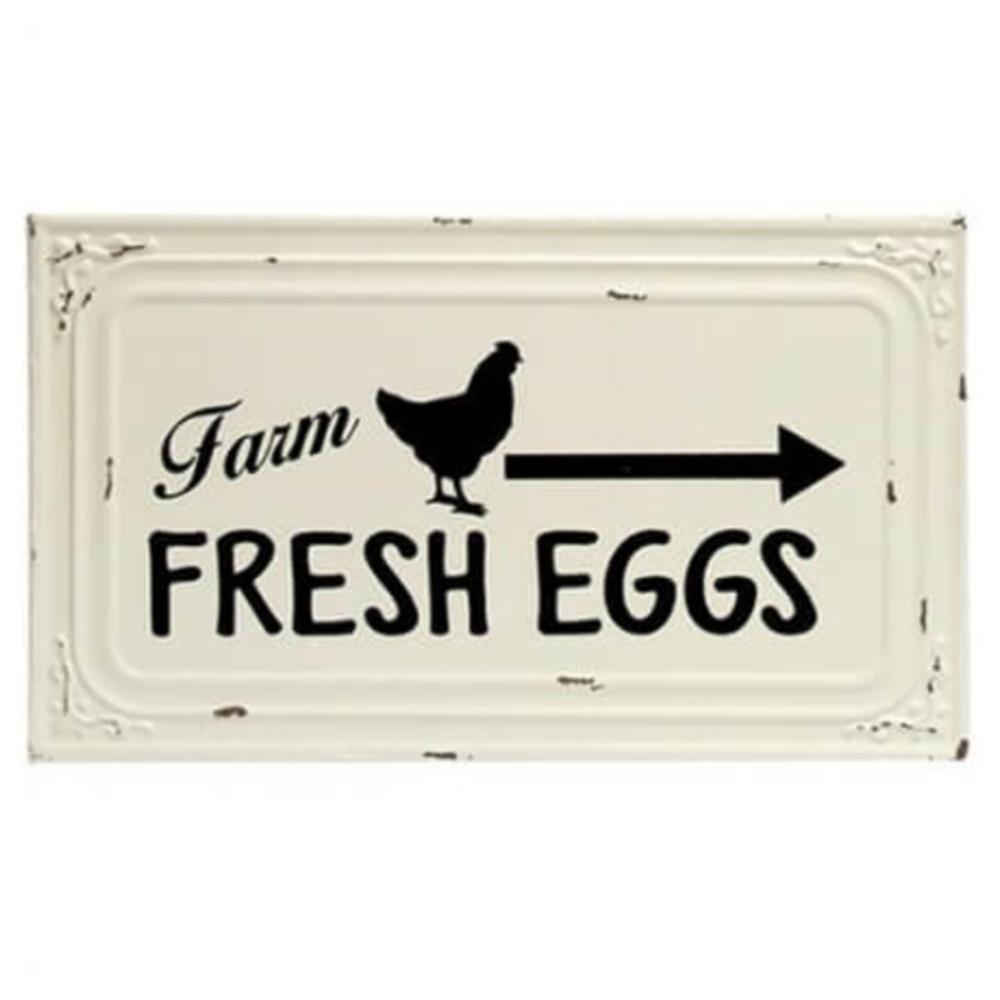 Farm Fresh Eggs Ceiling Tile Sign