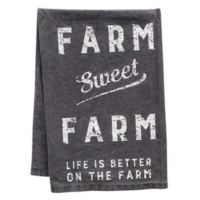 Farm Sweet Farm Hand Towel