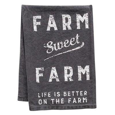 Farm Sweet Farm Hand Towel