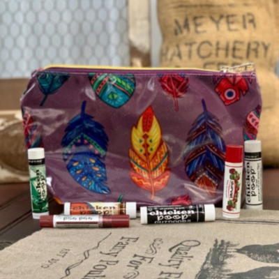 Feather Cosmetic Bag