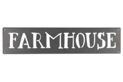 Farmhouse Metal Art