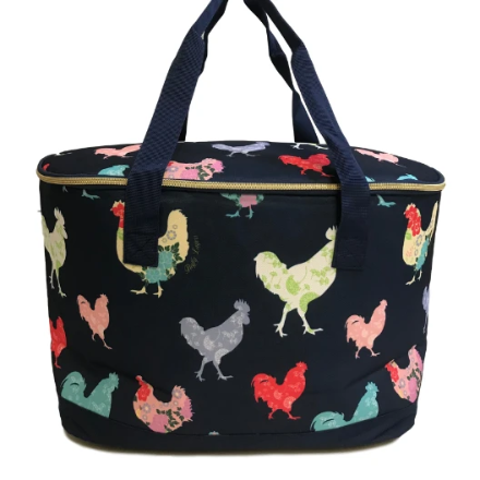 Insulated Canvas Chicken Cooler Bag