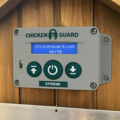 ChickenGuard Automatic Extreme Chicken Coop Door Opener