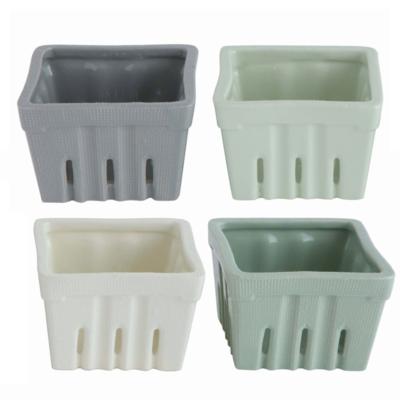 Stoneware Berry Baskets