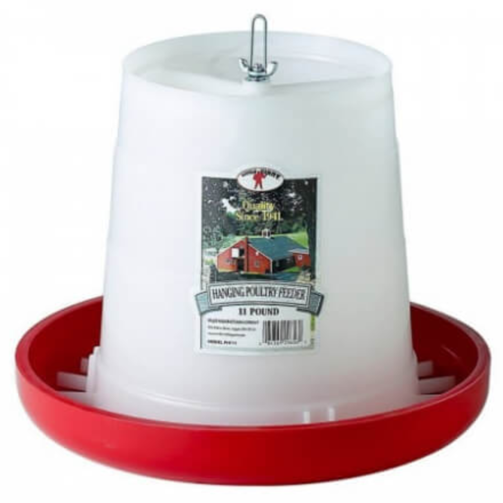 Plastic Hanging Poultry 11-Pound Feeder
