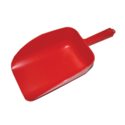 2-Quart Plastic Feed Scoop