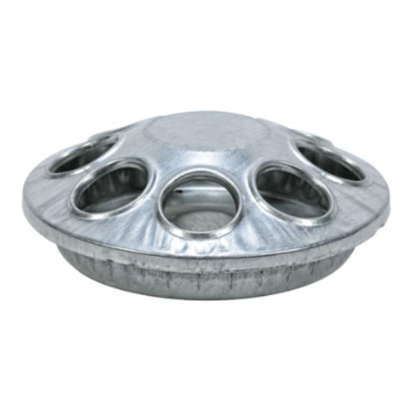 Galvanized 8-Hole Round Feeder