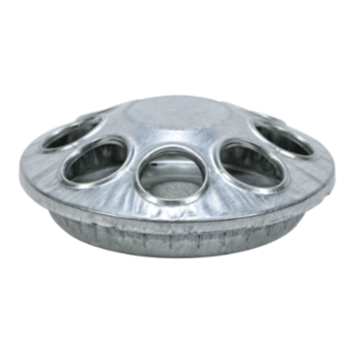 Galvanized 8-Hole Round Feeder