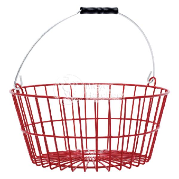 Plastic Coated 7-Dozen Egg Basket