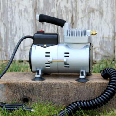 Mini Air Compressor for the Incredible Egg Washer