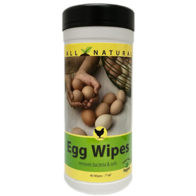All Natural Egg Wipes, 40-Count