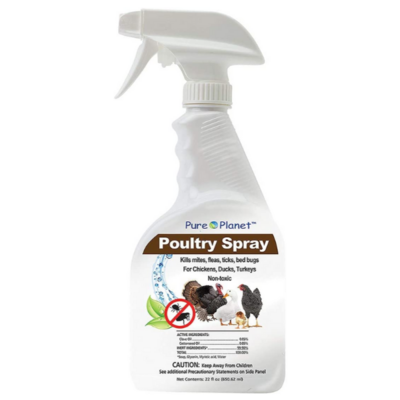 Pure Planet Poultry Spray, 22-ounce
