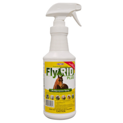 Durvet FlyRid Plus Spray, 32-ounce
