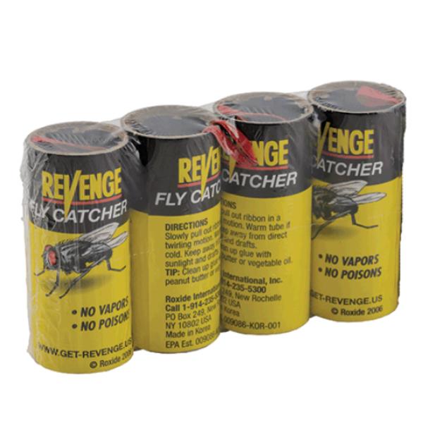 Revenge Fly Catcher, 4-pack