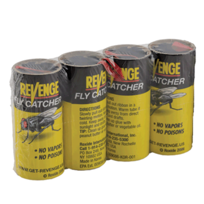 Revenge Fly Catcher, 4-pack