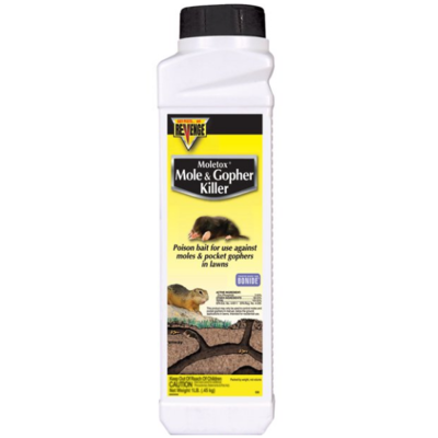 Revenge Mole & Gopher Bait, 16-ounces