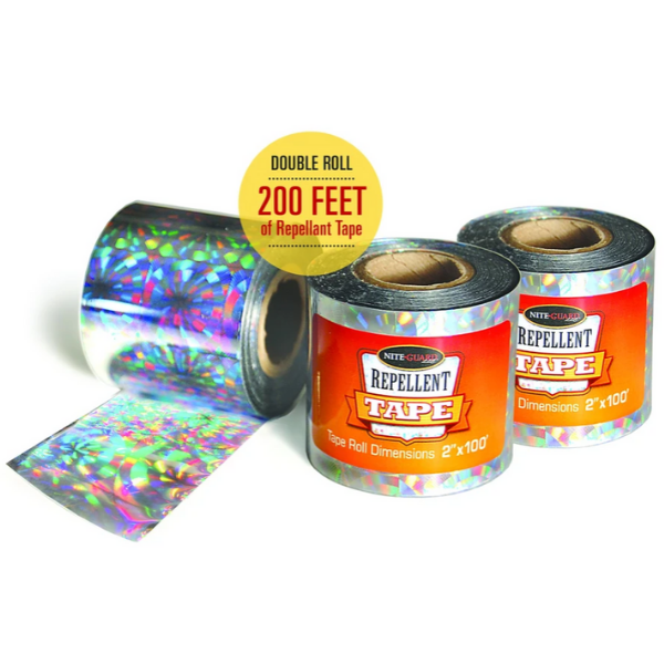 Nite Guard Repellent Tape, 2 Rolls