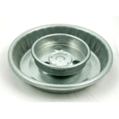 Threaded Galvanized Fount Base