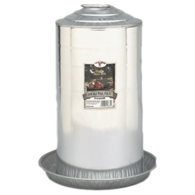 Galvanized 8 Gallon Waterer