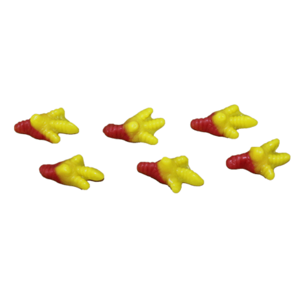 Gummy Chicken Feet, 1/4 lb