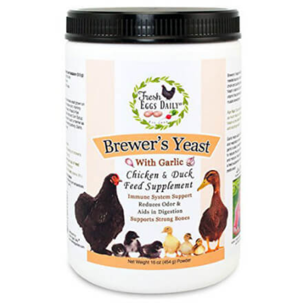Fresh Eggs Daily Brewers Yeast, 16-Ounce