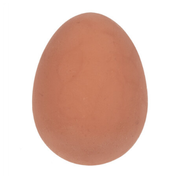 Brown Egg Bouncy Ball