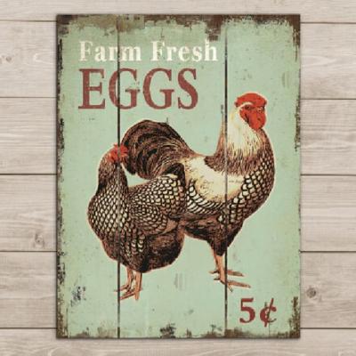 Farm Fresh Eggs Pallet Sign