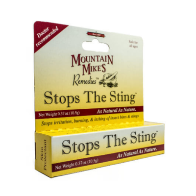 Mountain Mike's Stop the Sting Ointment