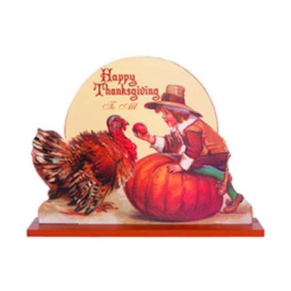 Thanksgiving Greetings Cut Out