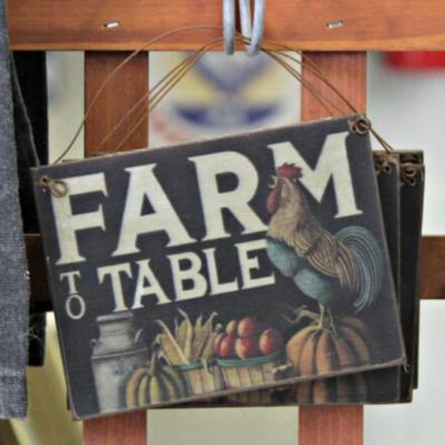 Farm To Table Ornament