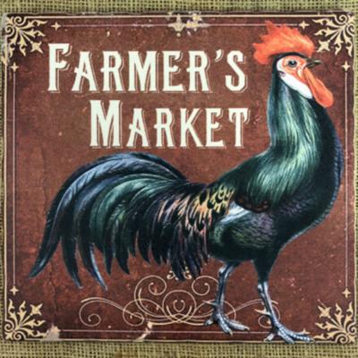 Farmer's Market Rooster Trivet