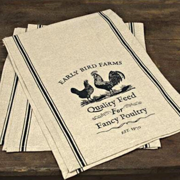 "Fancy Poultry 48"" Table Runner"