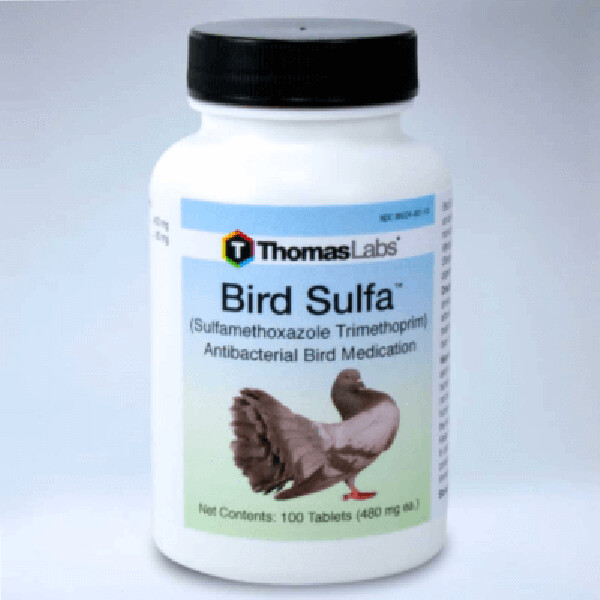 Bird Sulfa Sulfamethoxazole, 100 tablets