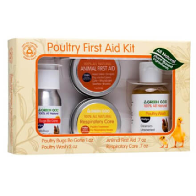 Green Goo Poultry First Aid Kit