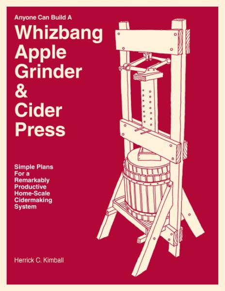 Whizbang Apple Grinder and Cider Press