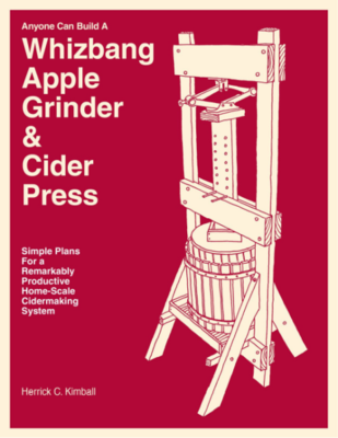 Whizbang Apple Grinder and Cider Press