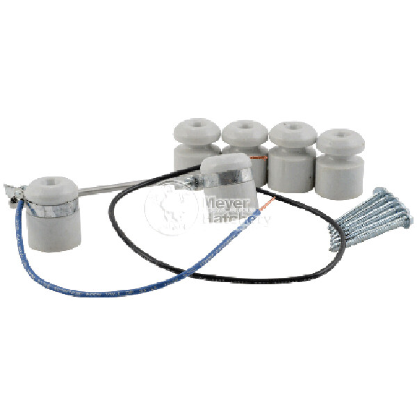 GQF 3015 225W Heat Element with Wire Lead Attached and 5 Porcelain Insulators
