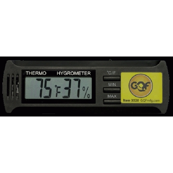 GQF 3520 Digital Incubator Thermometer/Hygrometer
