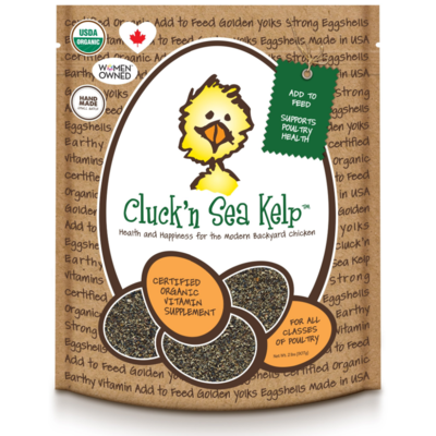 Cluck'n Sea Kelp - Treats for Chickens