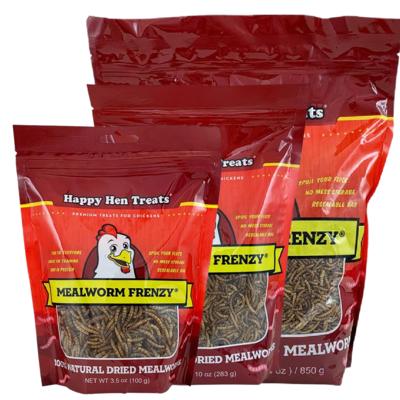 Mealworm Frenzy - Happy Hen Treats