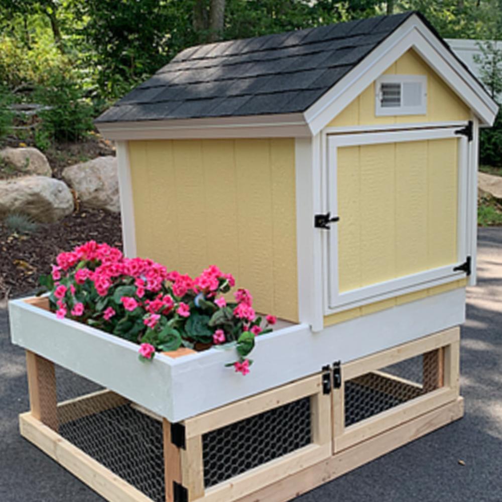 Comfy Coop Garden Coop Building Plans - Instant Download