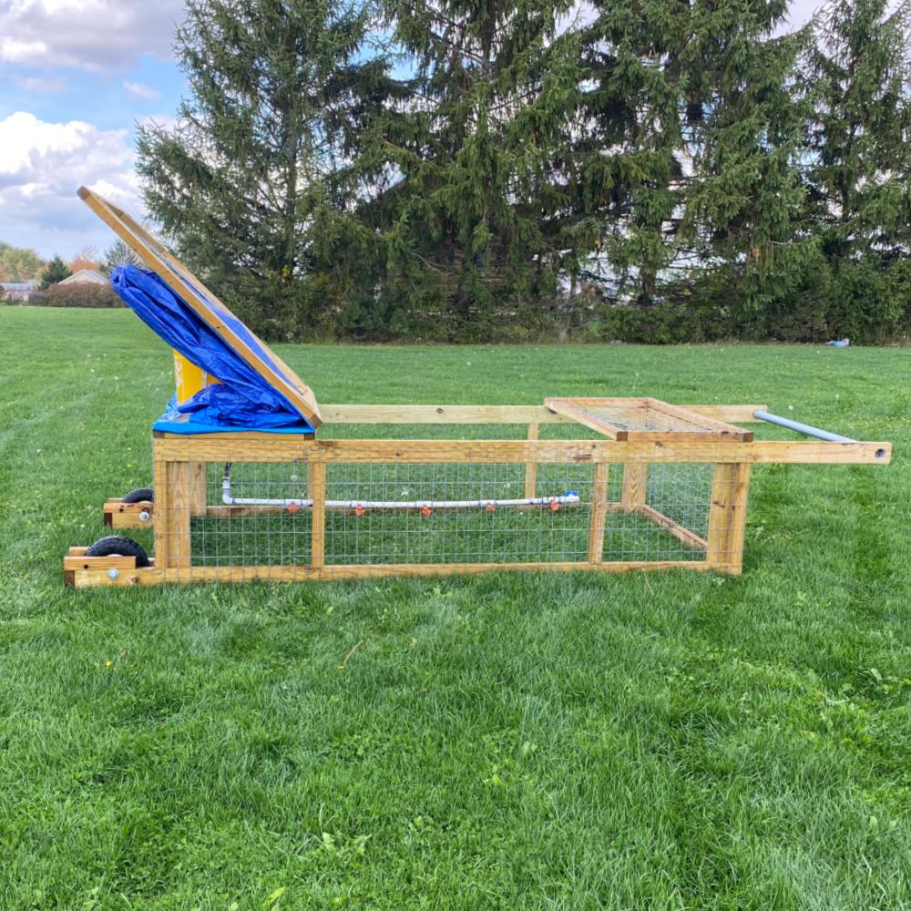 Chicken Tractor Plan - Instant Download